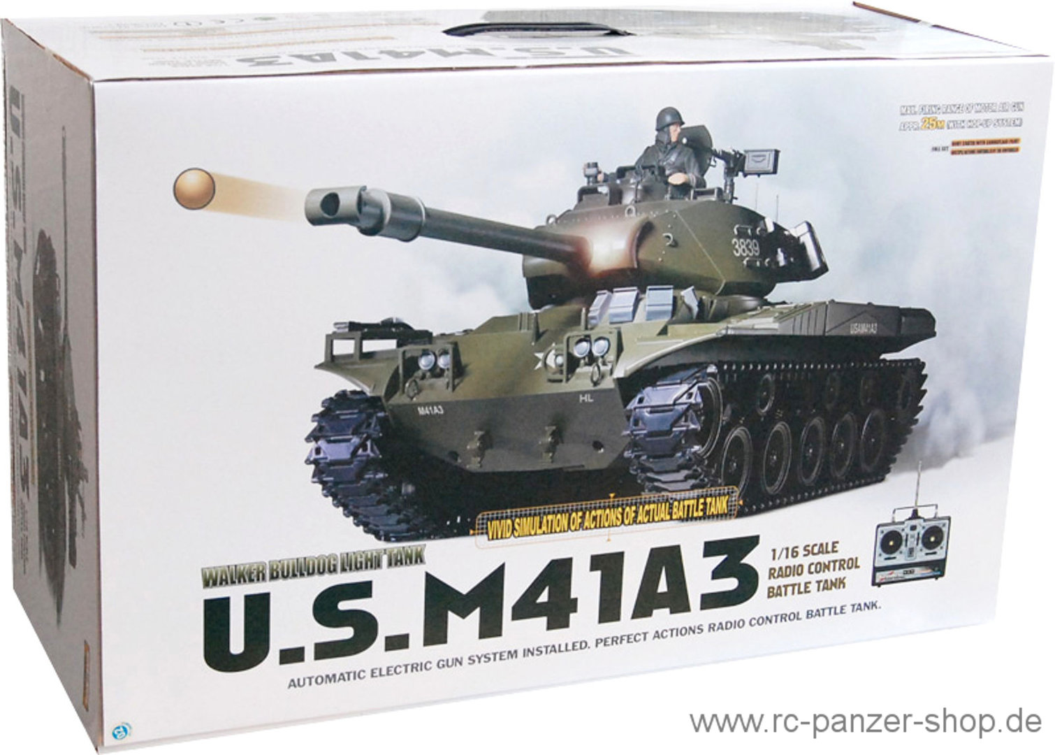 RC Tank M41A3