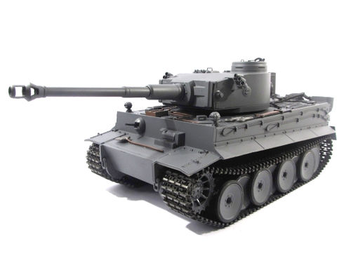 "RC Panzer ""Tiger I"" RTR Vollmetall, Mato, 2,4 Ghz, 360° Turm, Sound, Schussfunktion, lackiert"