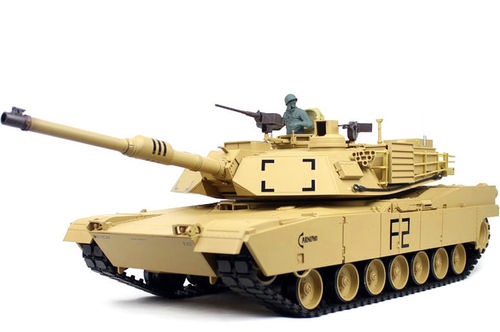 RC Panzer M1A2 Abrams 1:16 Heng Long Rauch, Sound, BB + IR, 2,4Ghz V6.0