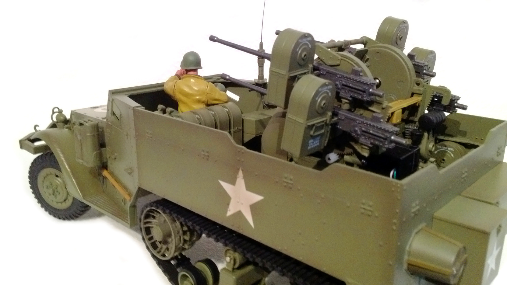 RC Halftrack Vehicle M16 FLA-Halbkette 1:16 Torro, Sound