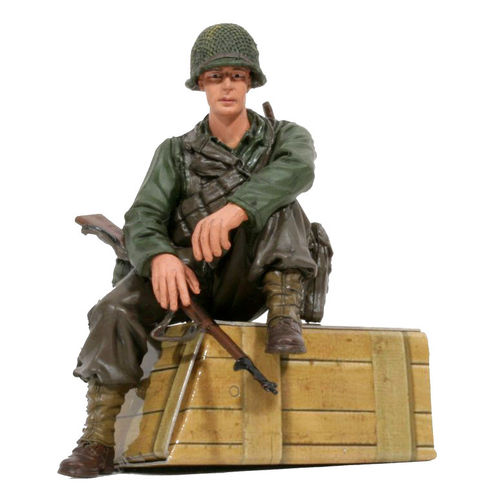 "Torro 1:16 Figuren Serie Figur ""U.S. Private 1th Class"" sitzend"