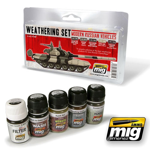 MIG Weathering Set Modern Russian Camo