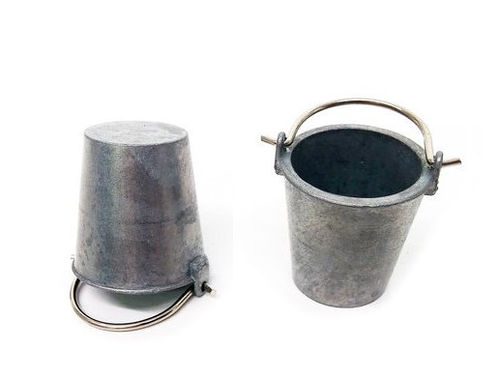 Metal Bucket Set [2 pcs.], scale 1:16, RC Tank accessories