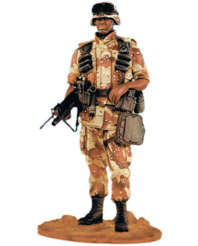 SOL Figure Kit U.S. Army Desert Storm soldier, scale 1:16