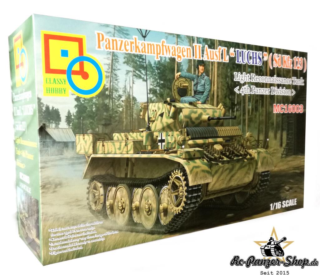 """Panzer II Ausf. L """"Luchs"""" Sd.Kfz. 123 Tank Kit, 4. Panzer"""