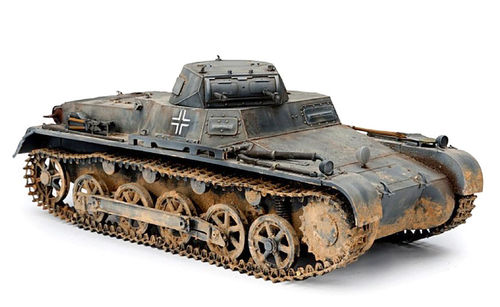 Panzer I Ausf. B, Modeling Kit, scale 1:16, SOL