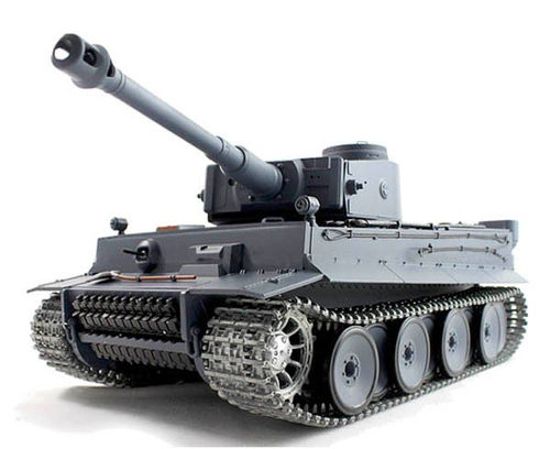 "RC Panzer ""Tiger 1"" Pro 2,4 Ghz Heng Long 1:16 Rauch, Sound, Metallgetriebe, Metallketten V 6.0"