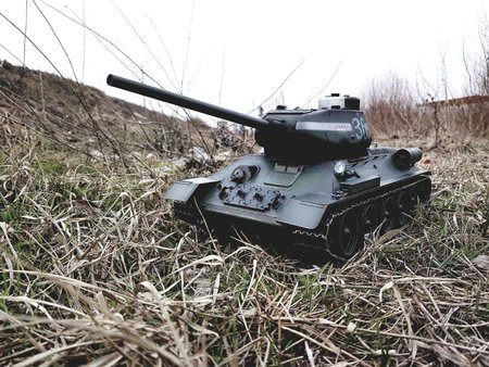 T 34-85 in action, by Alexandru\\n\\n13.02.2019 18:22